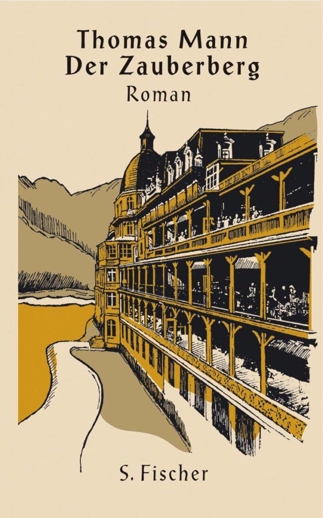 Cover of Der Zauberberg in German